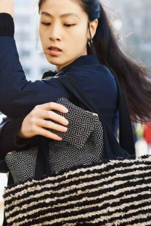 """Taschen Set """"Daniela"""", Handgefertigt In Lateinamerika, Bestehend Aus Shopper Handtasche """"Elvia"""", Tablet Tasche & Clutch """"Fabiola"""", Portemonnaie """"Alicia"""""""