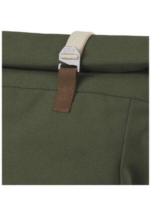 hessnatur Damen Rucksack Ansvar aus Bio-Baumwolle - grün - Größe One Size