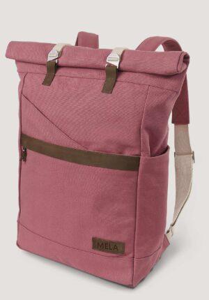 hessnatur Damen Rucksack Ansvar aus Bio-Baumwolle - rosa - Größe One Size