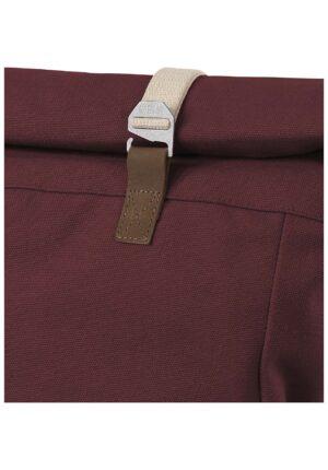 hessnatur Damen Rucksack Ansvar aus Bio-Baumwolle - rot - Größe One Size