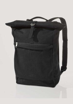 hessnatur Unisexaccessoires Rucksack Amar aus Bio-Baumwolle - schwarz - Größe 1size