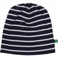 Stripe beanie navy/cream