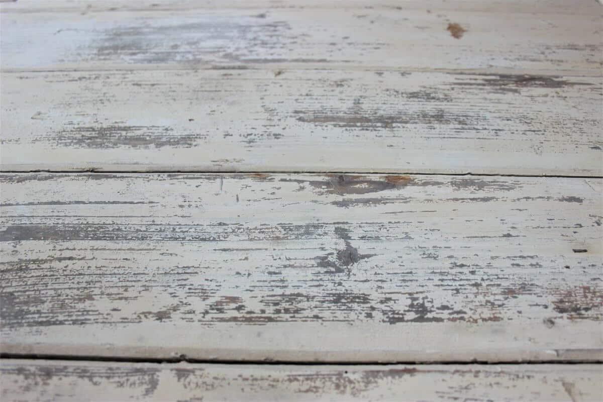 DIY Tischplatte Abschleifen