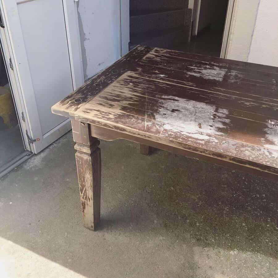 DIY alter Tisch