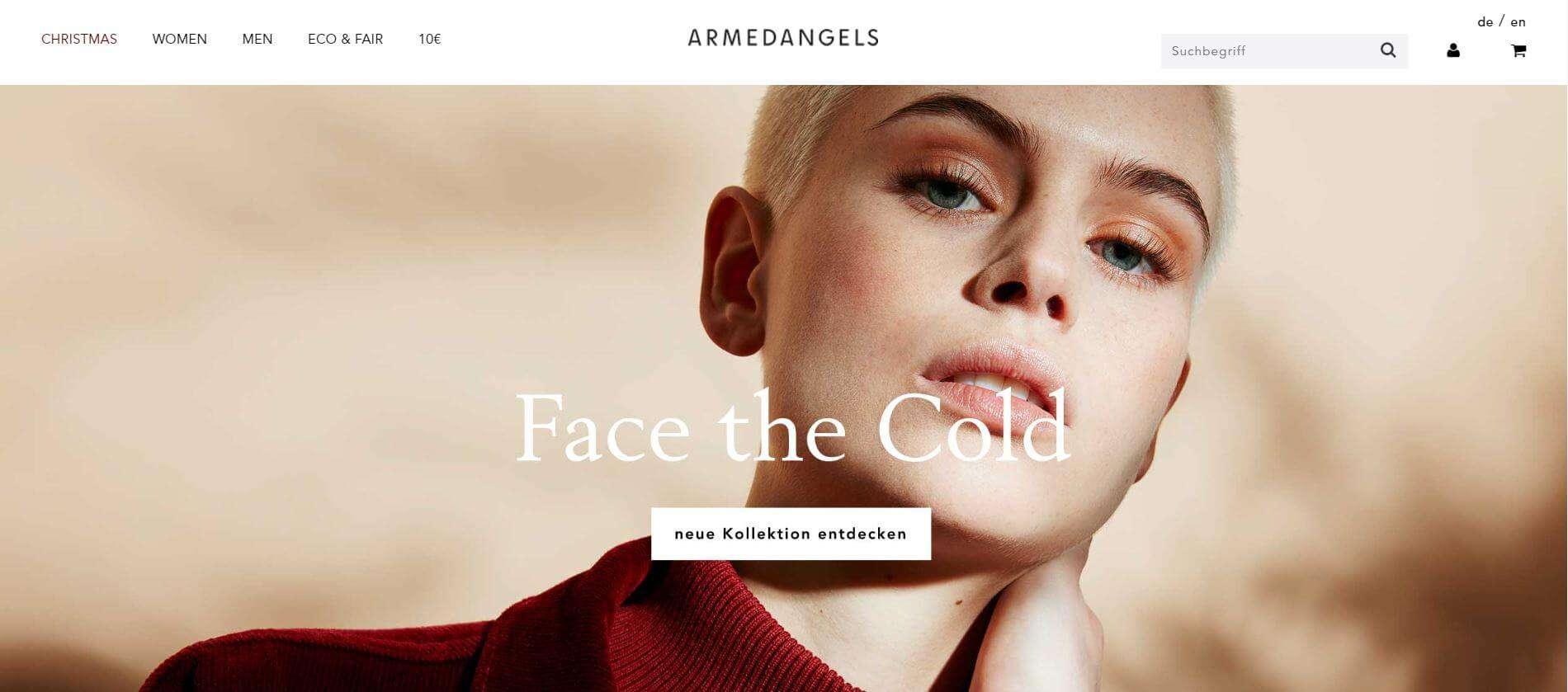 armedangels webseite