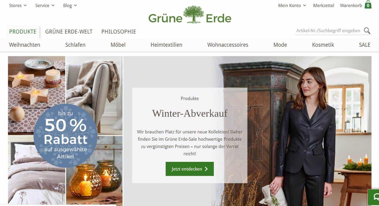 Grüne Erde Screenshot
