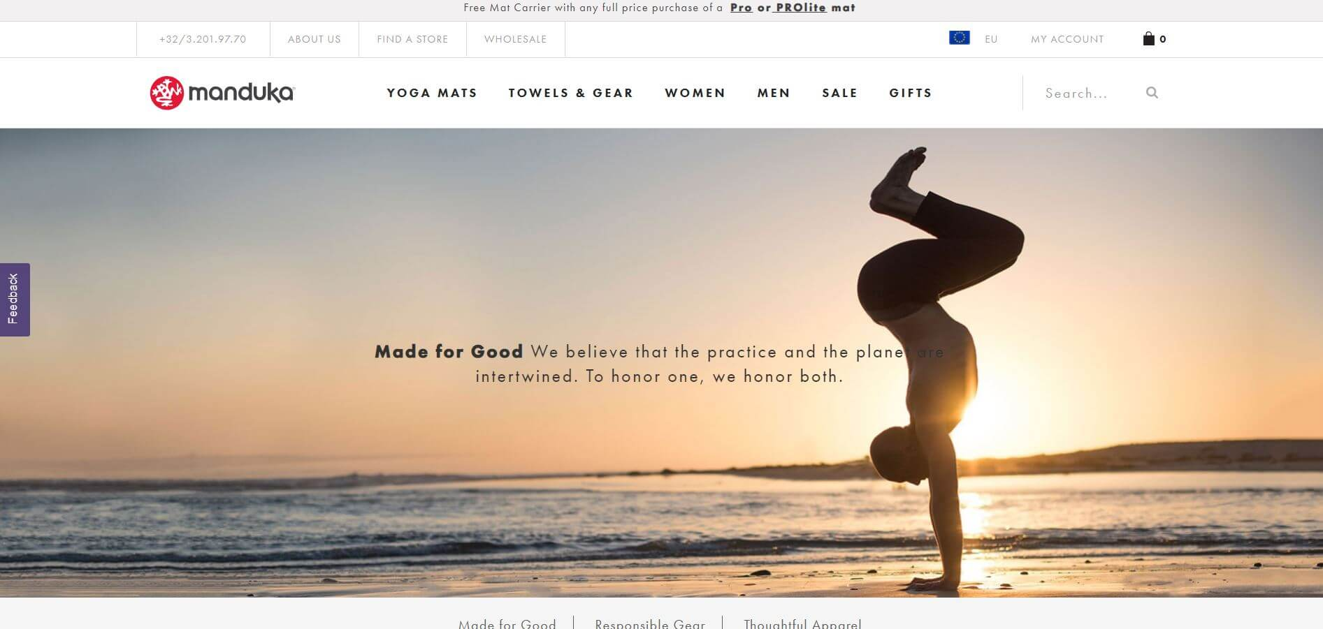manduka Yoga Screenshot