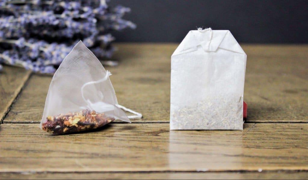 Pyramidenteebeutel und normale Teebeutel - bestehen sie aus Plastik?