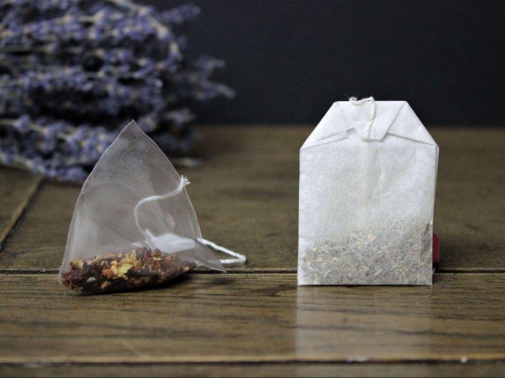 Plastik oder nicht? Pyramidenteebeutel vs. normale Teebeutel