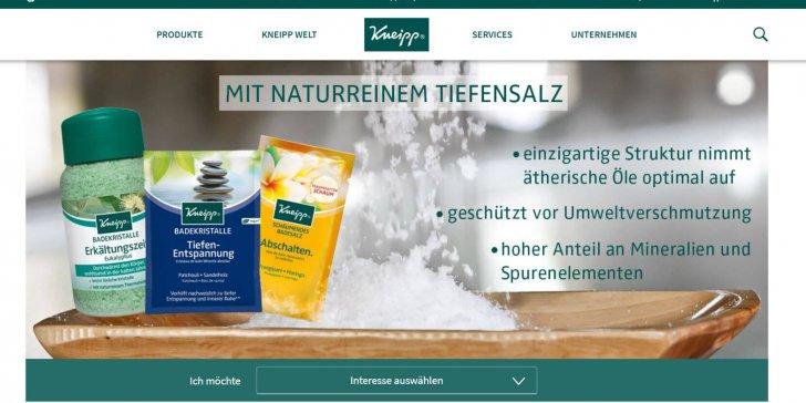 Kneipp Screenshot