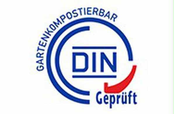 Zertifikat zur Gartenkompostierbarkeit