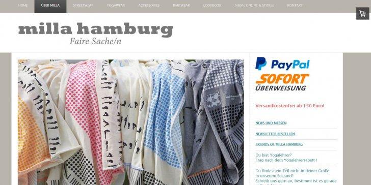 Milla Hamburg Screenshot