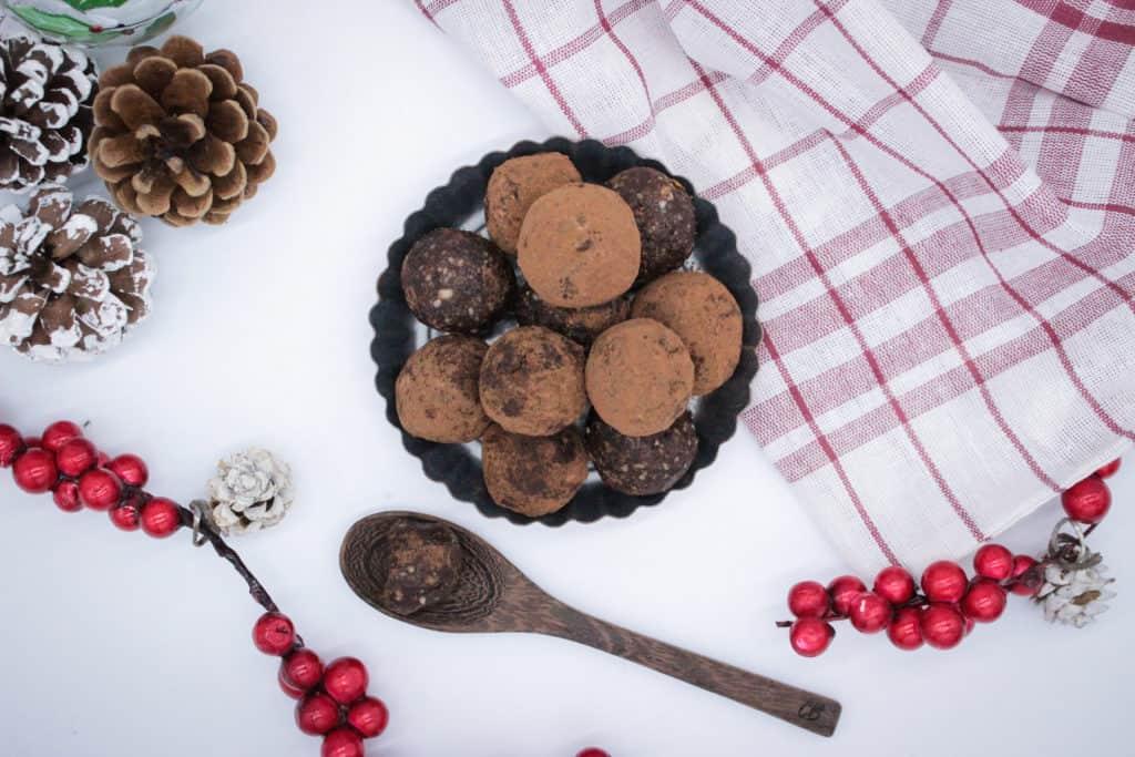 Gesunde Lebkuchen Energy Balls Rezept und Nährstoffe
