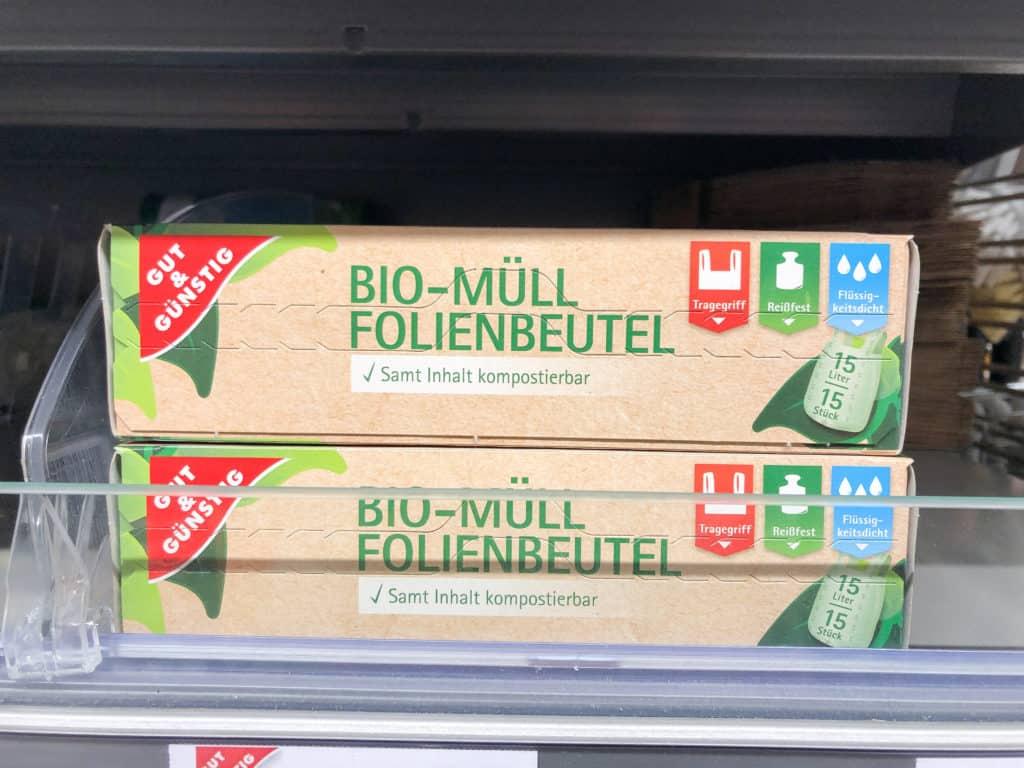 Bio-Müll Folienbeutel von Gut&Günstig