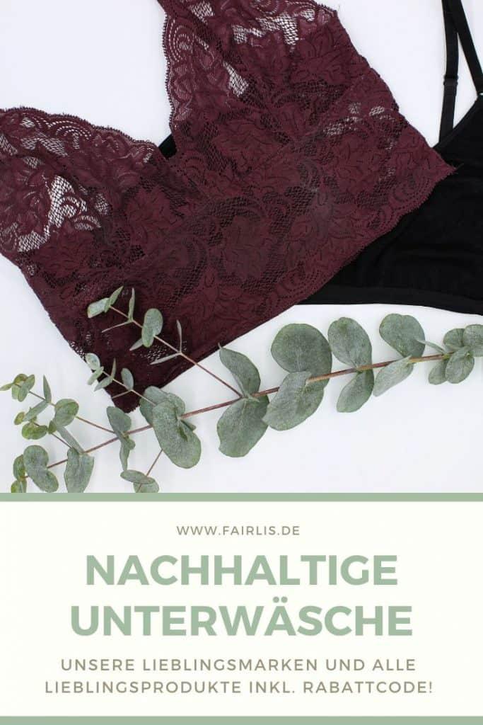 Nachhaltige Unterwäsche - Unsere drei Lieblingsmarken erlich Textil, anekdot und Organic Basics
