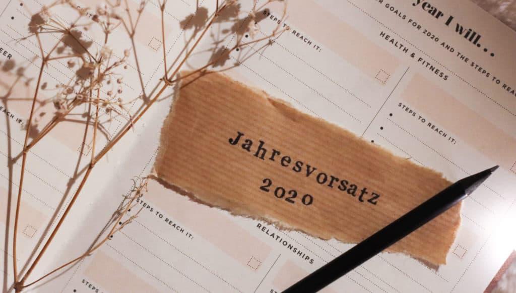 Nachhaltige Jahresvorsätze - wie dein neues Jahr umweltfreundlicher, fairer, und nachhaltiger wird