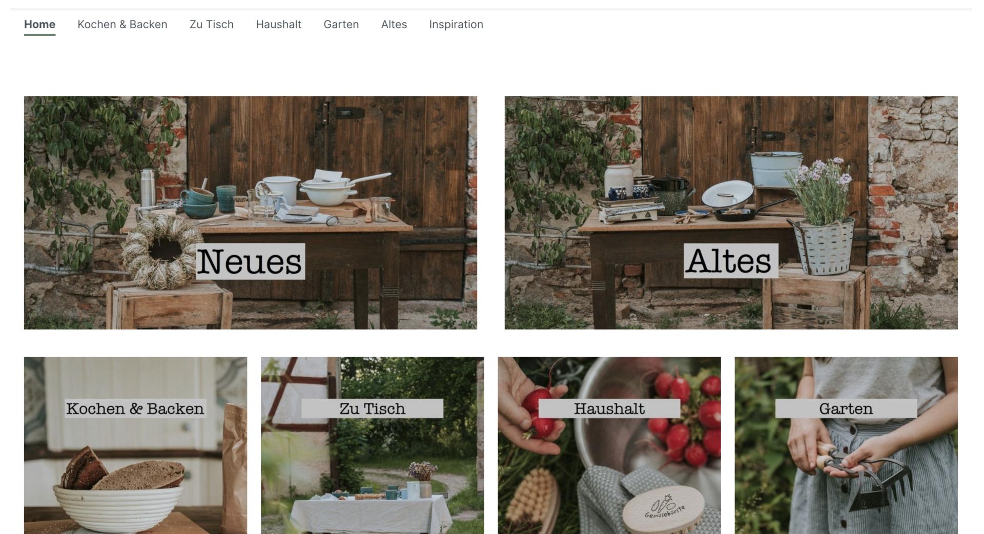 daheeme nachhaltiger Online Shop