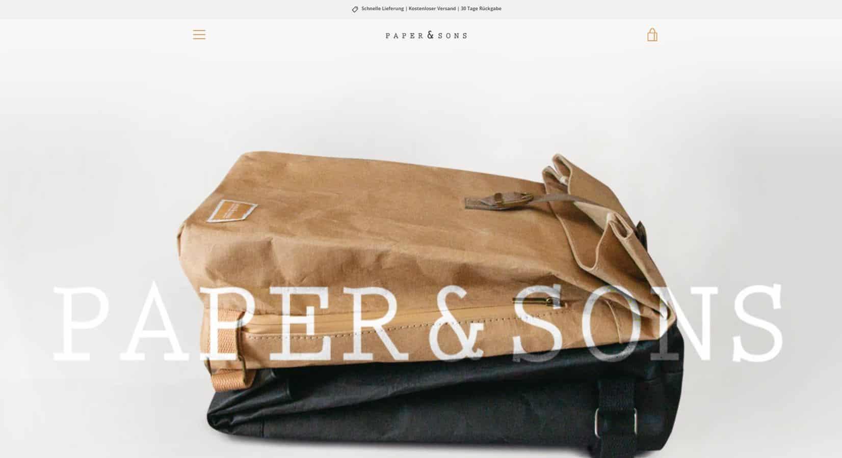 paper und sons screenshot