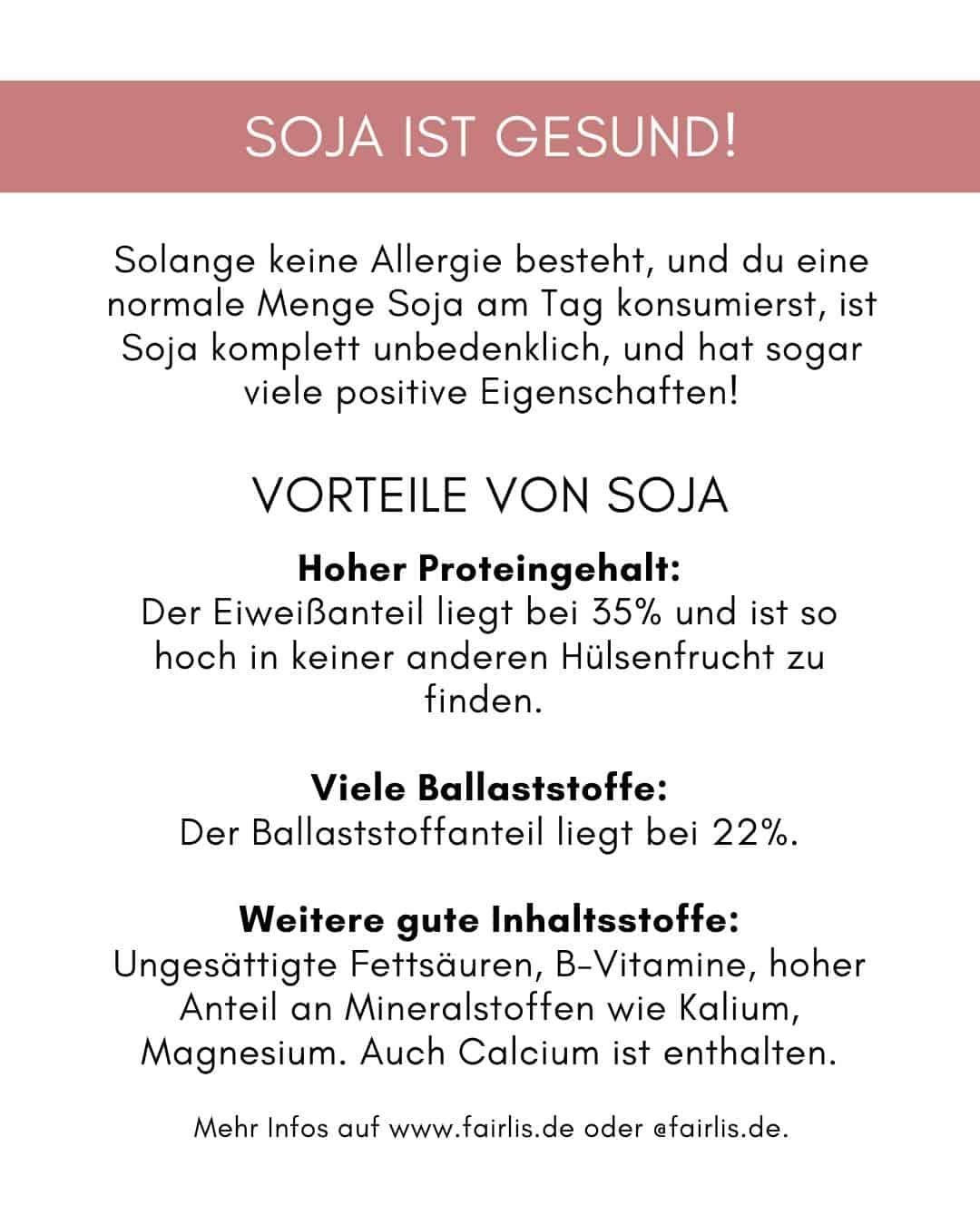 Gesundheitliche Vorteile von Soja