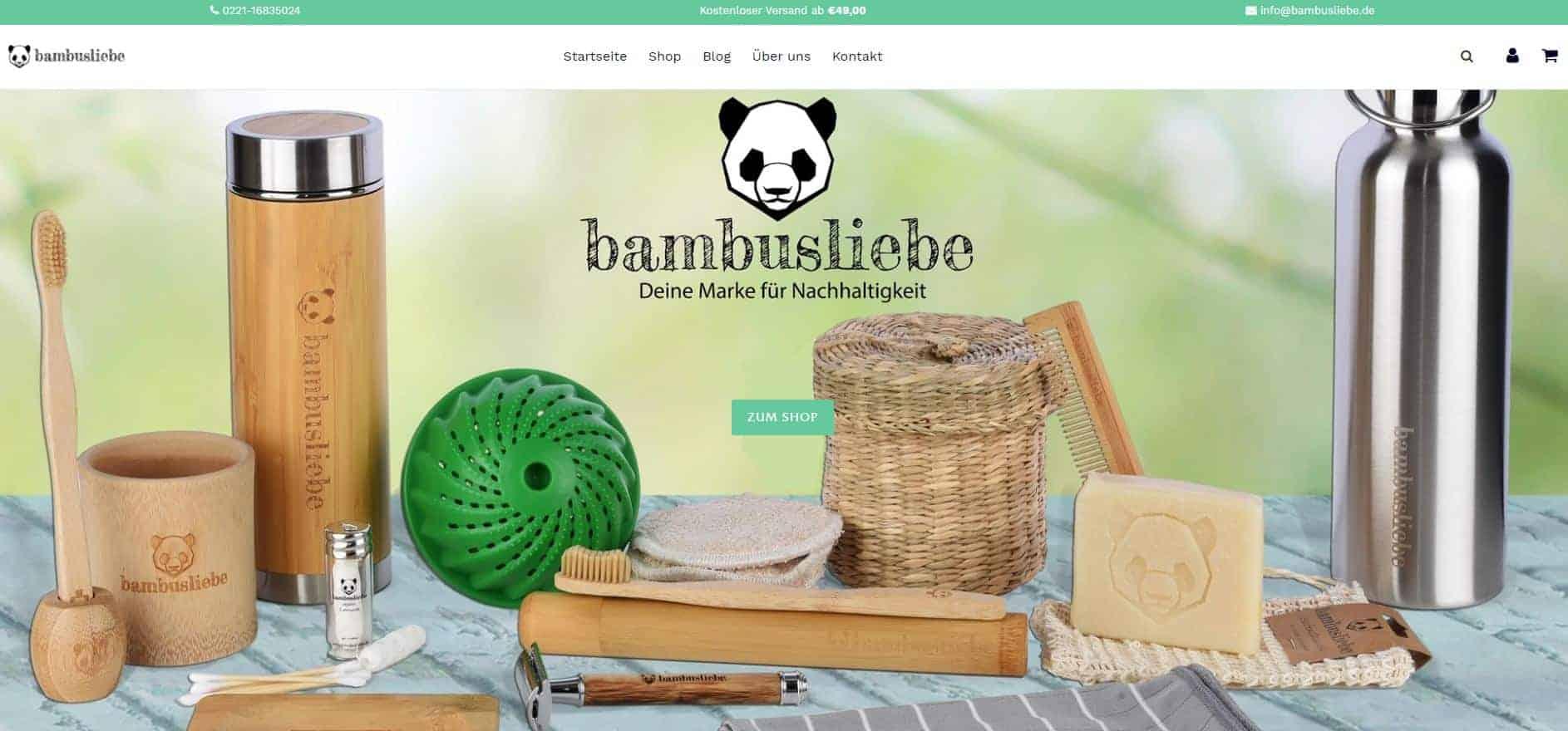 bambusliebe screenshot