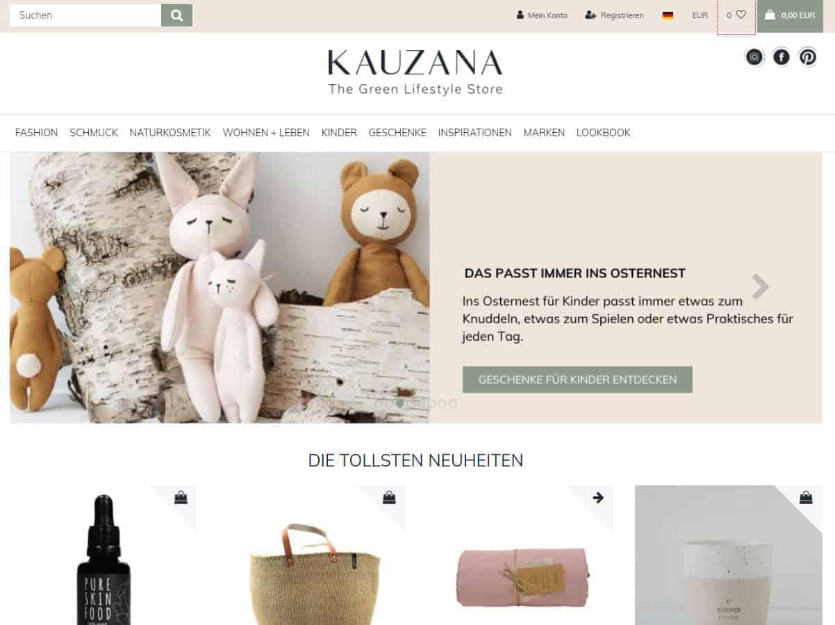 kauzana screenshot