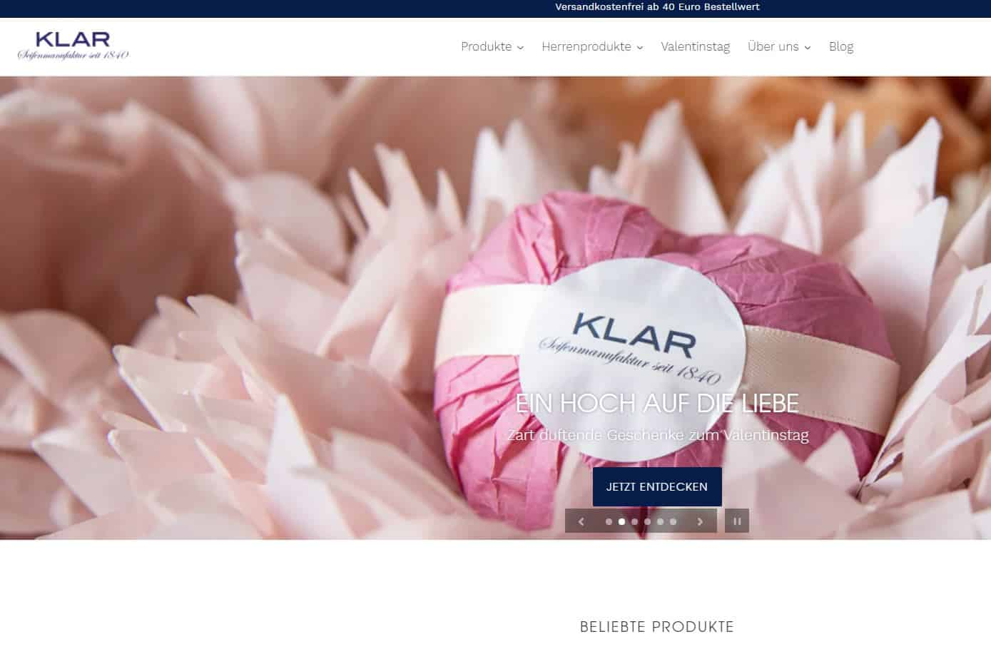 klar seifen screenshot