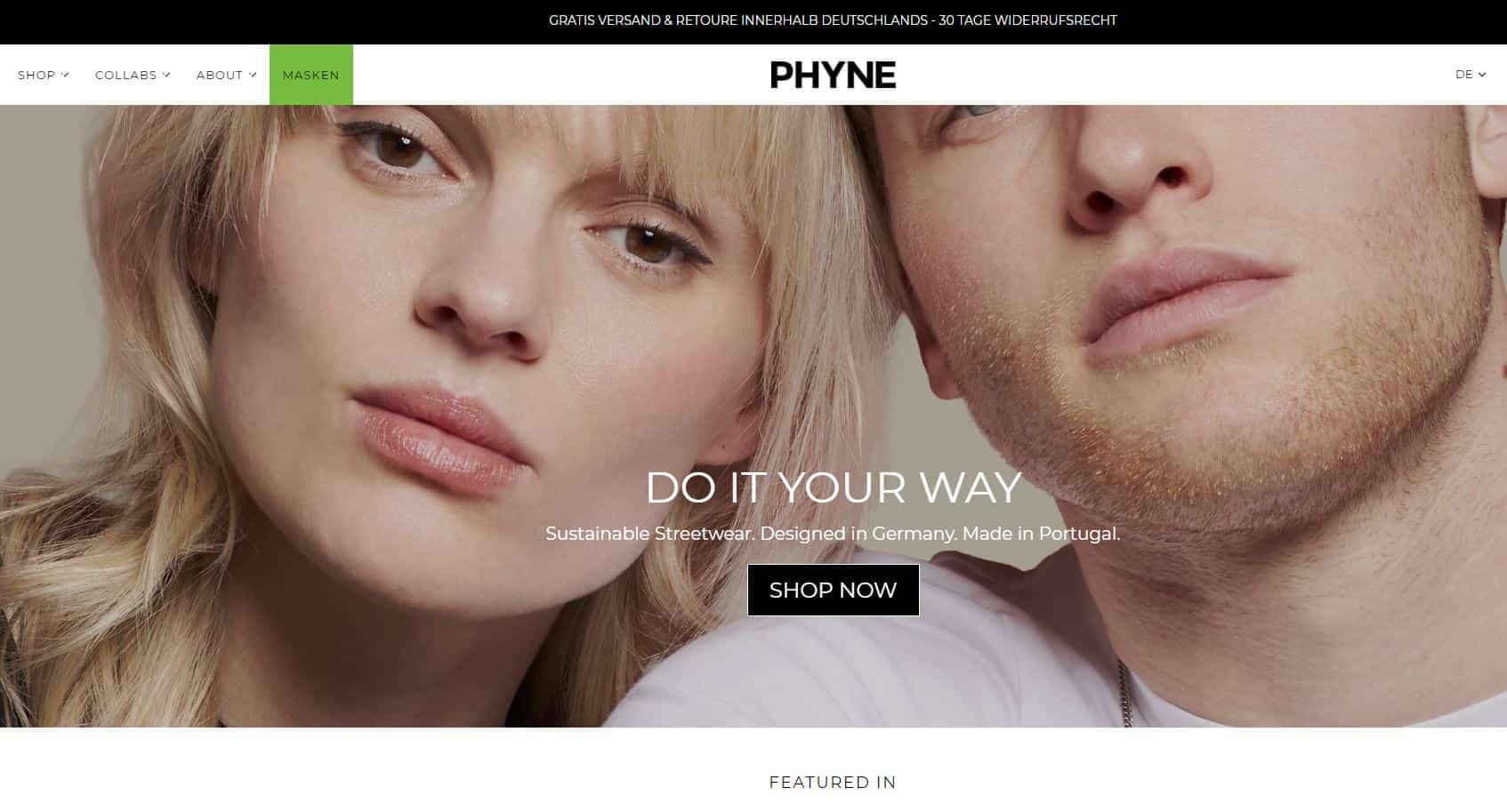 phyne screenshot