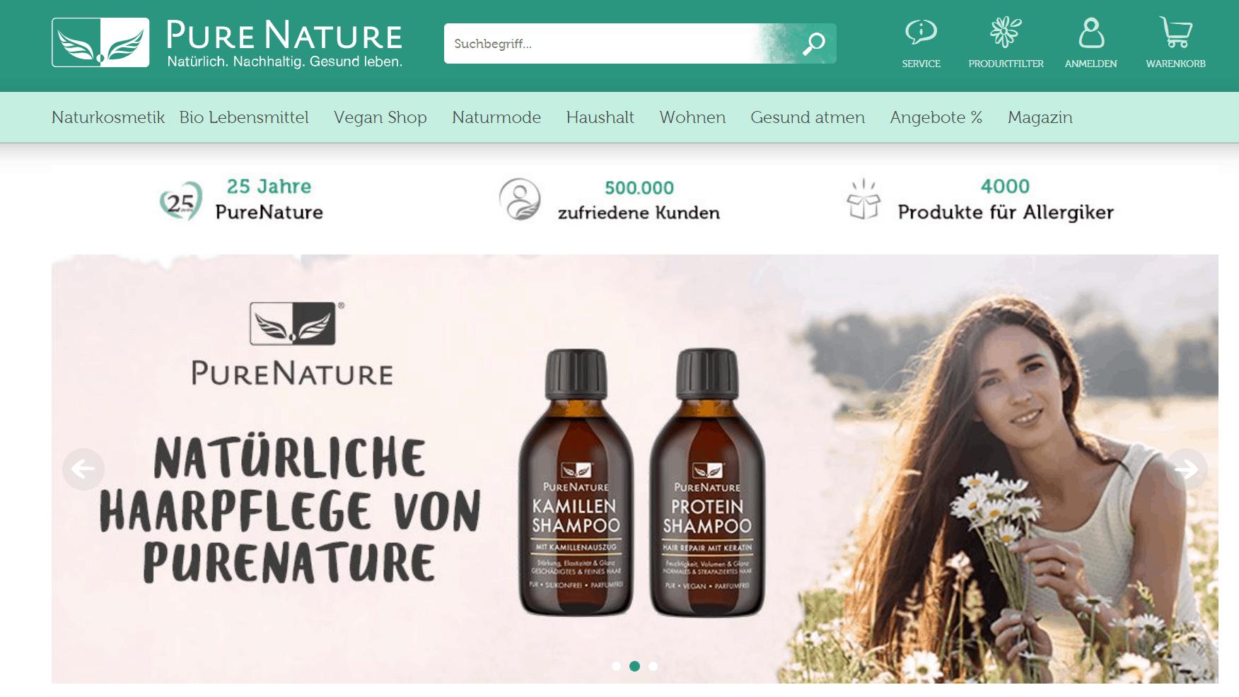 pure nature screenshot
