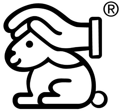 Hase mit schützender Hand Siegel