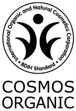 BDIH Cosmos Organic Siegel für Bio-Kosmetik