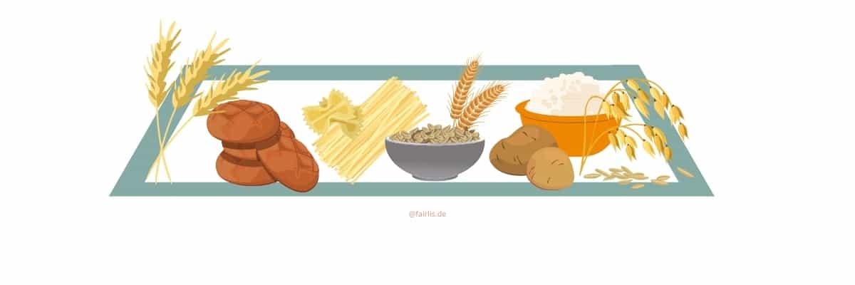 Kohlenhydrate in der veganen Ernährungspyramide