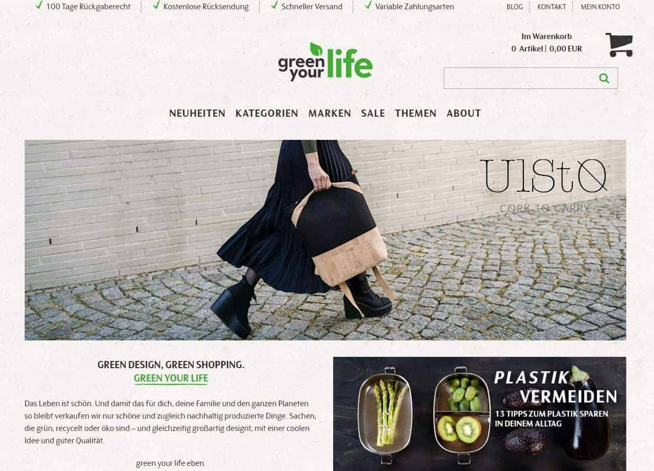 screenshot green your life