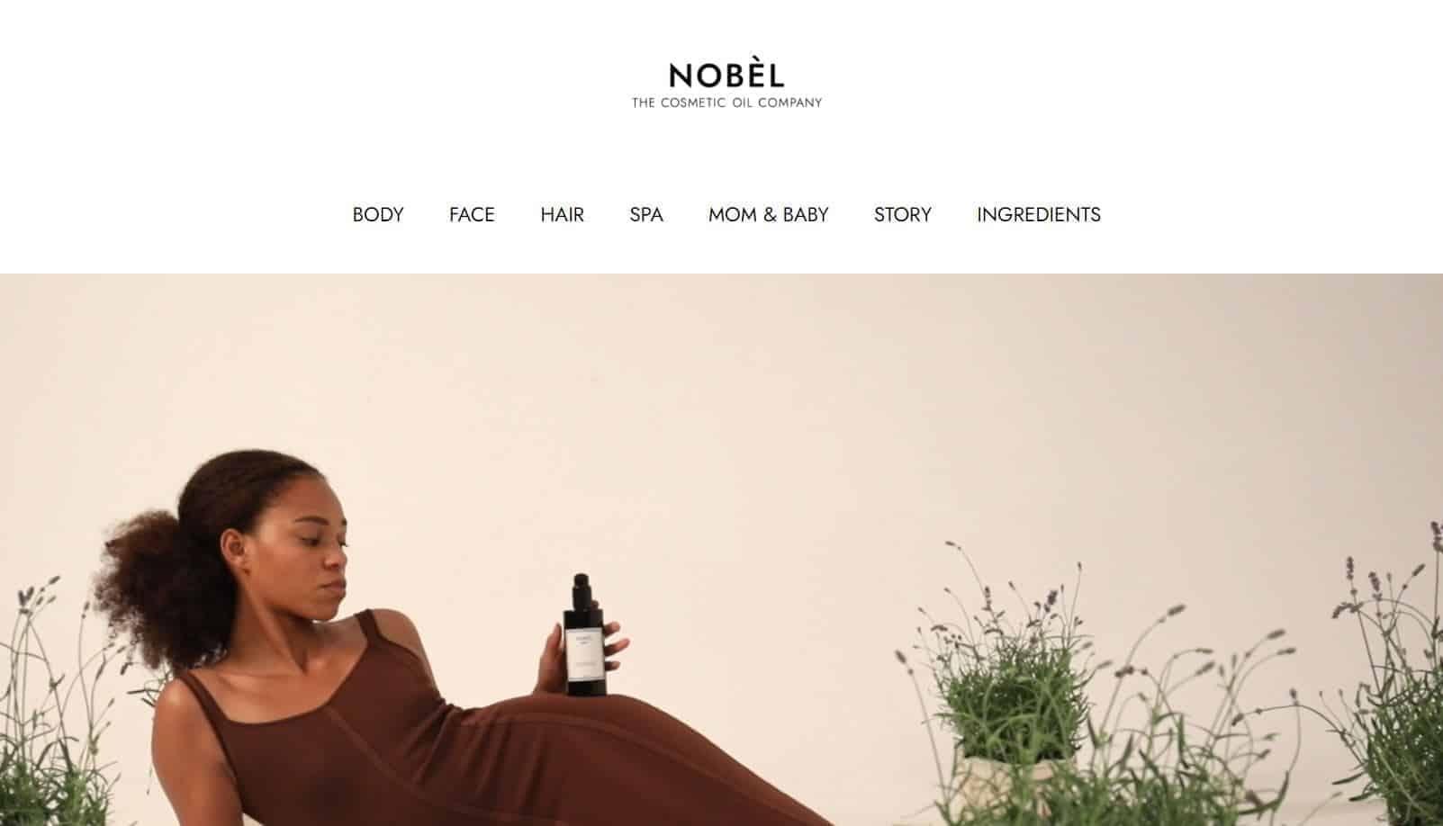 Screenshot nobel kosmetik