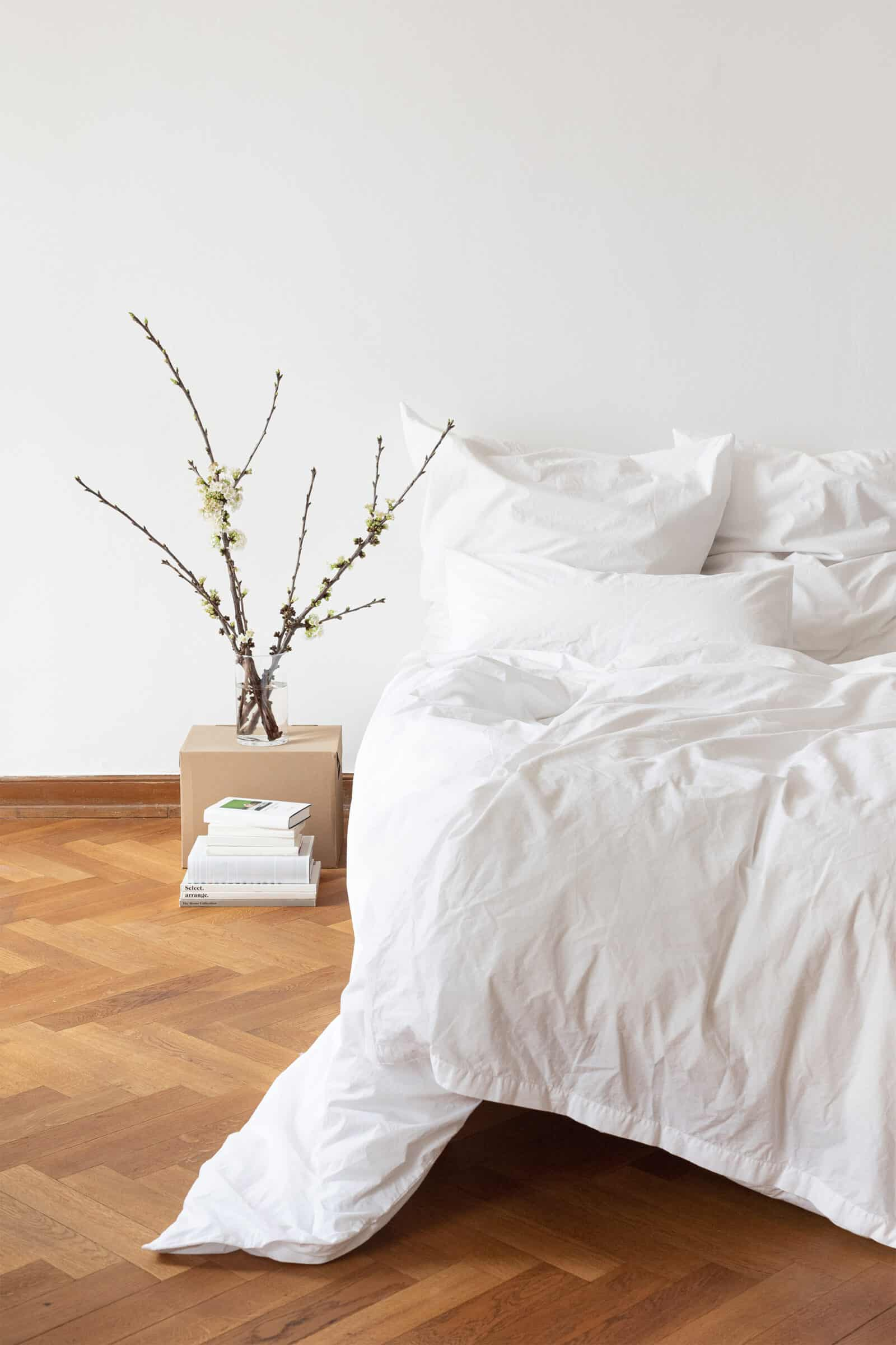 erlich Textil Bettwäsche weiß perkal
